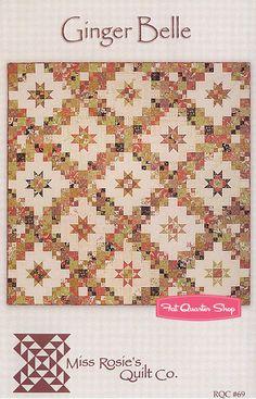 Ginger Belle Quilt Pattern Miss Rosie's Quilt Company - Fat Quarter Shop