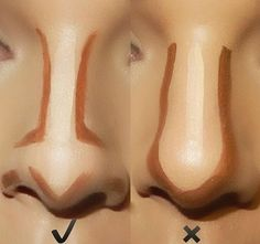 comment contouring le nez idee maquillage facile tuto