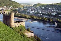 Ehrenfels Castle in Bingen am Rhein