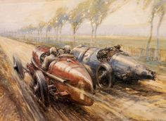 Frederick Gordon Crosby - French Grand Prix, on the 8.3-mile Strasbourg circuit in 1922