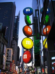 New York M&M's let's go sometime!  I love you a thousand red M&M's, to infinity and beyond. Forever, and ever. I promise <3