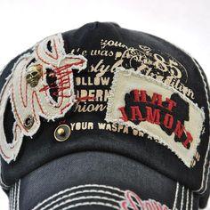 f94a773ed3d63 Mens Patch Embroidered Metal Skull Sunshade Snapback Hats Baseball Cap