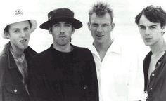 Big Audio Dynamite - Rush.    https://www.youtube.com/watch?v=-h8zs898lr4