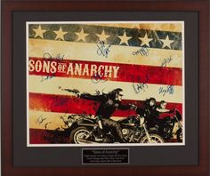 Silent Auction Item Sons Of Anarchy Cast autographed 16x20 movie poster #fundraising #auction https://www.cfr1.org/fundraising-items/