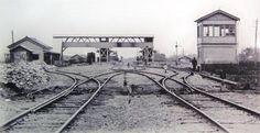 1903年(明治36年)池袋駅が開業。(写真は明治期の池袋駅)