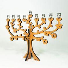 Tree of Life Wood Menorah Hanukkah Menorah, Hannukah, Hanukkah 2019, Hanukkah Gifts, Candle Cups, Hanukkah Decorations, Location Villa, Glass Pumpkins, Jewish Gifts