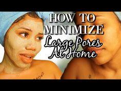 DIY PORE MINIMIZER MASK AT HOME | BAKING SODA, INDIAN HEALING CLAY, ALOE VERA MASK - YouTube Open Pores On Face, Face Mask For Pores, Nose Pores, Get Rid Of Pores, Minimize Pores, Clean Pores, Aloe Vera Mask, Acne Dark Spots, Baking Soda Face