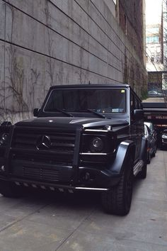 Black on Black G-Wagon
