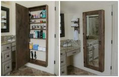 Pallet projects for the bathroom