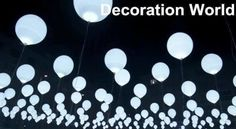100 Stk.Weisse LED Ballons  zur Hochzeit - 06.03.2017 22:44:00 - 2