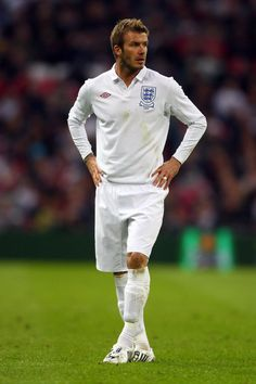 David Beckham Photos Photos - England v Slovakia - International Friendly - Zimbio England Football Players, England National Football Team, Best Football Players, National Football Teams, World Football, Soccer Players, English Football Teams, Football Icon, Adidas Football