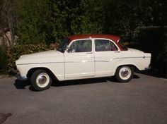 My dad's car: Simca P60 - ours was yellow, with a black roof...