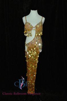 933b5c2492f9d Latin Ballroom Dance Dress, CRM313 | Dress By: A Dress Rental, Latin  Ballroom