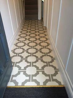 Neisha Crosland Parquet Stone Vinyl Wood Flooring, Hall Flooring, Luxury Vinyl Tile Flooring, Vinyl Tiles, Wood Vinyl, Carpet Flooring, Harvey Maria, Tiled Hallway, Peel And Stick Vinyl