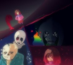 Glitchtale: Fear and Dust by Stereotyped-Orange