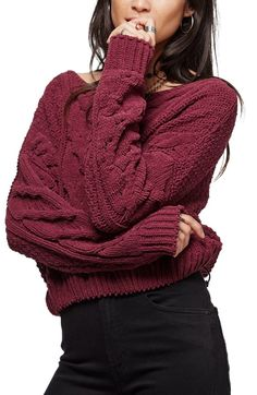 Free People Sticks and Stones Sweater at Nordstrom