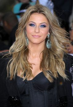 Julianne Hough Purple Eyeshadow   For appointments at Stewart & Company Salon, call (404) 266-9696.