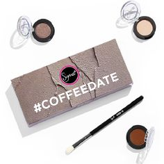Indulge in soft basics for every look, every occasion. The #COFFEEDATE set takes you from work to coffee break, to dinner with three perfect shadows. Café au Lait is a universally flattering matte brown, perfectly complimented by the nude sheen of Chase and add something unexpected with Notre Dame – a neutral with a hint of purple. Blend flawlessly with the top-selling E25 Blending brush.