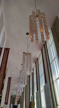Thought you all may enjoy these...in the grand foyer of the Kennedy Center for Performing Arts in Washington, DC