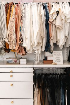 Master Closet Reveal Our His Hers