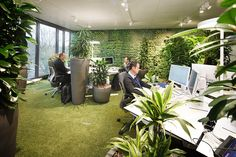For some lucky creative agencies, the days of dull and drab cubicle spaces are long gone, with employers realizing that inspiring surroundings can have a direct effect on their employees' creativity! Carpet by OBJECT CARPET Carpet Tiles, Rugs On Carpet, Innovative Office, Work Life Balance, Flooring Options, Corporate Design, Innovation Design, Minimalist Design, Eco Friendly