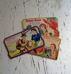 Vintage Needle Books by InaMaeVintage on Etsy, $16.00