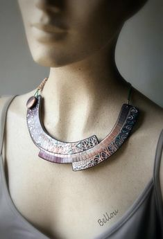 Polymer Clay, Chokers, Enamel, French, Jewelry, Design, Fashion, Jewels, Cold Porcelain