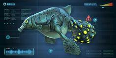 Subnautica Creatures, Curious Creatures, Creature Feature, Creature Design, Subnautica Concept Art, Alien Plants, Beast Creature, Alien Art, Creature Concept