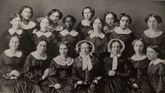 Happy International Women's Day! Here's a photo of the women in the class of 1855 courtesy of the Oberlin College Archives. What Oberlin women inspire you? Ap Us History, World History, Black History, Family History, Edmonia Lewis, Reform Movement, Happy International Women's Day, One Wave, African American History