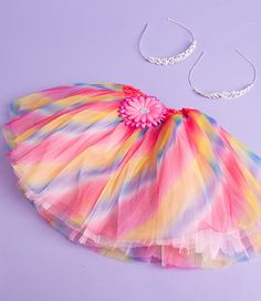 Tutus & Bling Violet all the way!