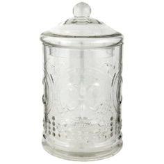 6GL0326M Vorratsglas Vorratsdose Schale Gefäß mit Deckel Glas ca. Ø 15 x 28 cm ca. 3100 ml von Clayre & Eef, http://www.amazon.de/dp/B0098X32NW/ref=cm_sw_r_pi_dp_YSJwtb1N1EPB6