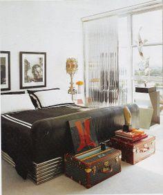 6th Street Design School   Kirsten Krason Interiors : Vintage Luggage Sets