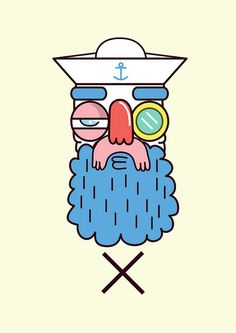 Marine by Martin Vinograd, via Behance