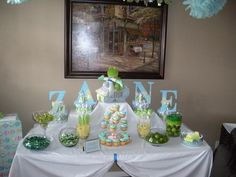 Hostess with the Mostess® - Frog Theme Baby Shower