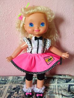 Mattel Tapsie Doll!!!! omg!!!!!!!!! i loved her!!!!! oh she was my fave thing! bahahahaha