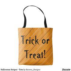 Halloween Stripes - Tote