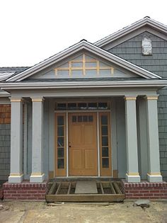 44 Best Square Columns Images In 2018 Balcony Exterior