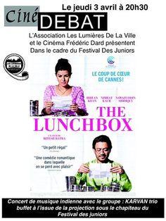 Ciné Concert Lunchbox. Le jeudi 3 avril 2014 à les-mureaux.  20H30