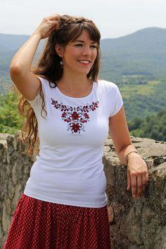 by LiliFolkShop Pride, Folk, T Shirts For Women, Unique, Fashion, Moda, Forks, Fasion, Folk Music