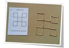 Fiches pour une activité géométrique en autonomie. Développe le repérage spatial, la psychomotricité fine, facilitante pour les élèves dyspraxiques.