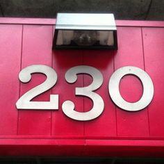 #230 #numbers #type #typography #wallnumbers