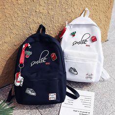 Harajuku fashion cute backpack sold by Cute Kawaii {harajuku fashion}. Shop more products from Cute Kawaii {harajuku fashion} on Storenvy, the home of independent small businesses all over the world. Cute Mini Backpacks, Trendy Backpacks, Girl Backpacks, School Backpacks, Bags For Teens, Girls Bags, Black Backpack, Backpack Bags, Mochila Kpop