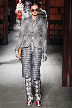 Moncler Gamme Bleu Fall 2014 Menswear Collection Slideshow on Style.com