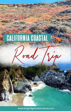 The Ultimate California Highway 1 coastal road trip itinerary Big Sur State Park, State Parks, California Coast, California Travel, California Attractions, San Diego Travel, Monterey Bay Aquarium, Pismo Beach, Road Trip Hacks