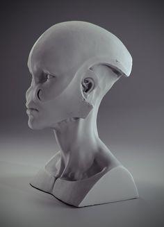 Alien , Paweł Bieniasz on ArtStation at https://www.artstation.com/artwork/nNkJ6