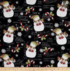 Travel Pillow Case / Standard Pillow Case / Hooray for Snow /  Snowmen /  Christmas by Blessedbyarose on Etsy