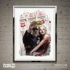 """""""The idea is not to live forever, it is to create something that will."""" - Andy Warhol Day 48"""