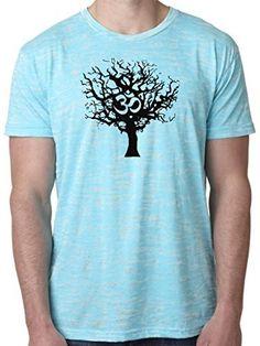 Yoga Clothing For You Mens Tree of Life Burnout Tee Shirt  Price : $24.99 http://yogaclothingforyou.hostedbywebstore.com/Yoga-Clothing-For-You-Burnout/dp/B00OZU7JDW