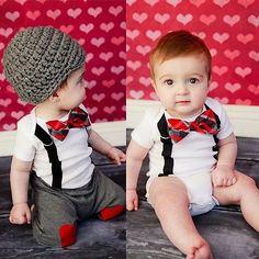 $5.60 (Buy here: https://alitems.com/g/1e8d114494ebda23ff8b16525dc3e8/?i=5&ulp=https%3A%2F%2Fwww.aliexpress.com%2Fitem%2F2016-Newborn-Baby-Boys-Girls-Clothing-Cute-Bow-Tie-Romper-Bodysuit-and-Heart-Print-Pant-2PCS%2F32718402143.html ) 2016 Newborn Baby Boys Girls Clothing Cute Bow Tie Romper Bodysuit and Heart Print Pant 2PCS Outfit Children Kids Clothes Set for just $5.60