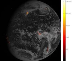 New Satellite Beams Back Its 1st Photo of Lightning from Space